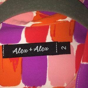 Alex + Alex bottom down dress